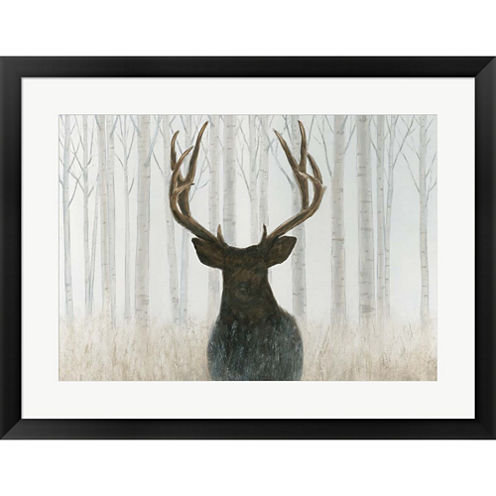 Into The Forest Framed Print Wall Art