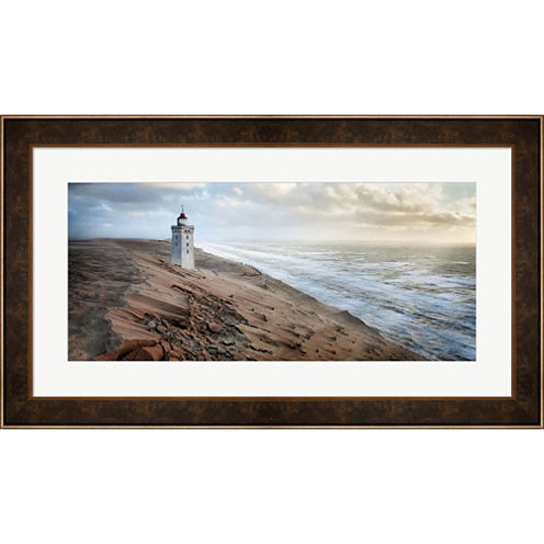 Crack In Time II Framed Print Wall Art