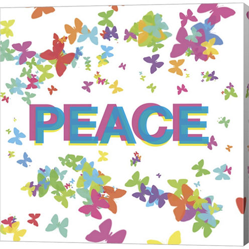 Harmonious Peace Gallery Wrapped Canvas Wall Art On Deep Stretch Bars