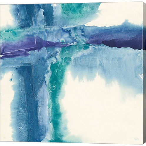 Jewel Tones I Gallery Wrapped Canvas Wall Art On Deep Stretch Bars
