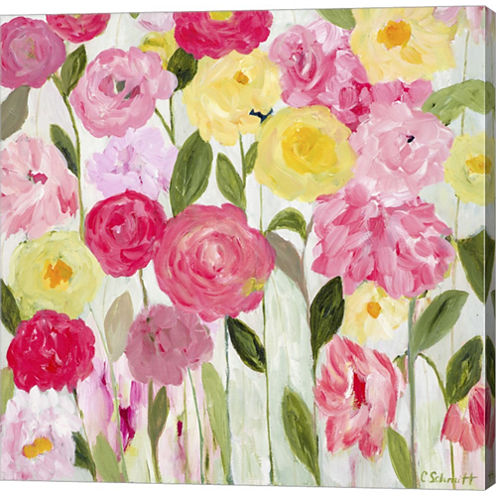 Margaret's Flowers Gallery Wrapped Canvas Wall ArtOn Deep Stretch Bars