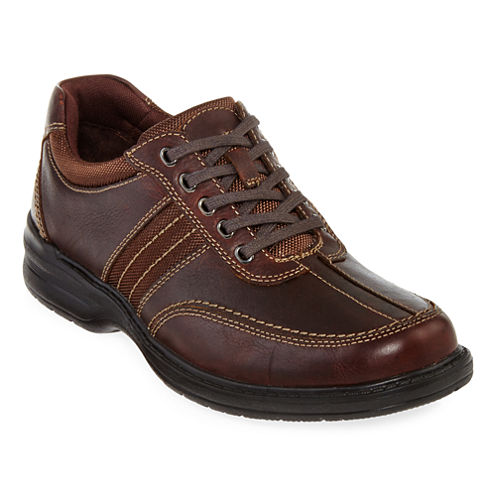 Clarks® Sherwin Mens Casual Leather Oxfords