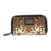 nicole by Nicole Miller® Leigh Double-Zip Wallet
