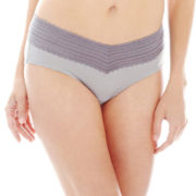 Warner's® No Pinching, No Problems.® Lace-Trim Hipster Panties - 5609J