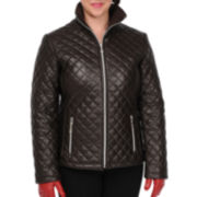 Excelled Quilted Scuba Jacket