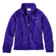 Columbia® Benton Springs™ Full-Zip Fleece Jacket - Girls 6-16