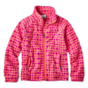 Columbia® Benton Springs™ Full-Zip Print Fleece Jacket - Girls 6-16