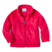 Columbia® Benton Springs™ Full-Zip Fleece Jacket - Girls 2t-4t