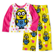 Despicable Me 2-pc. Pajama Set - Girls 2t-4t