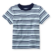 Okie Dokie® Short-Sleeve Striped Tee – Boys 12m-24m