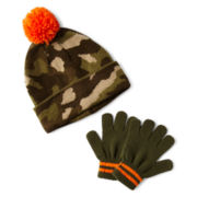 Carter's® Camo Mitten Set – Boys 12m-24m