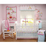 NoJo® 4-pc. Love Birds Crib Set