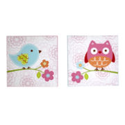 NoJo® Love Birds 2-pc. Canvas Art
