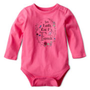 Arizona Long-Sleeve Graphic Bodysuit – Girls 3m-24m