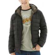 Levi's® Hooded Puffer Jacket