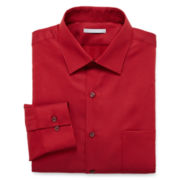 Van Heusen® Fitted Piqué Dress Shirt
