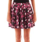 Olsenboye® Floral Print Skater Skirt
