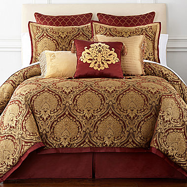Cheap Royal Velvet 174 Jarvis 4 Pc Chenille Comforter Set