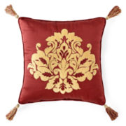 Royal Velvet® Jarvis Square Decorative Pillow