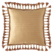 Royal Velvet® Jarvis Square Tassel Decorative Pillow