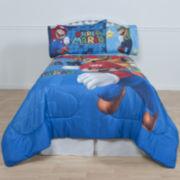 Super Mario Fresh Look Reversible Comforter & Accessories