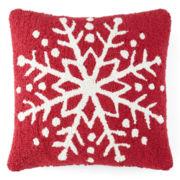 North Pole Trading Co. Snowflake Decorative Pillow