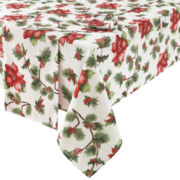 JCPenney Home™ Holiday Poinsettia Table Linen Collection