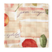 Reflections Orchard Fruit Set of 4 Napkins