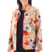 Alfred Dunner® San Antonio Floral Quilted Jacket