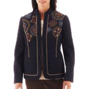 Alfred Dunner® San Antonio Crinkle Jacket