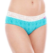 Cosmopolitan Lace Microfiber Hipster Panties