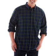 The Foundry Supply Co.™ Long-Sleeve Flannel Shirt–Big & Tall
