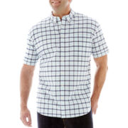 The Foundry Supply Co.™ Short-Sleeve Oxford Shirt-Big & Tall
