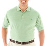 IZOD Short-Sleeve Oxford Piqué Polo-Big & Tall