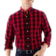 St. John's Bay® Legacy Long-Sleeve Poplin Shirt