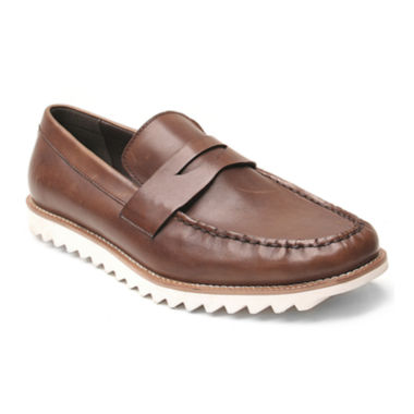 jcpenney.com | Banana Blue Beck Mens Leather Boat Shoes