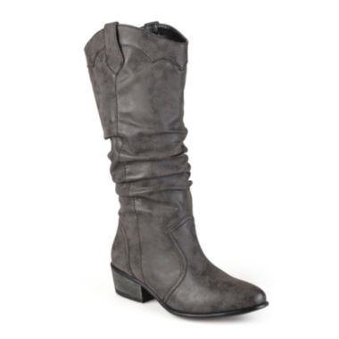 jcpenney.com | Journee Collection Drover Slouch Womens Riding Boots
