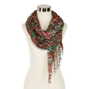 Mixit™ Christmas Space-Dyed Confetti Scarf