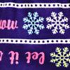 Blue Let It Snow