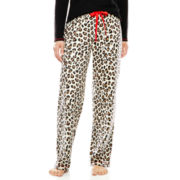 Sleep Chic Micro Fleece Sleep Pants - Petite