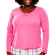 Sleep Chic Long-Sleeve Sleep Tee - Plus