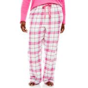 Sleep Chic Flannel Sleep Pants - Plus