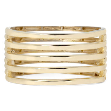 jcpenney.com | KJL by KENNETH JAY LANE Gold-Tone 5-Row Hinged Cuff Bracelet