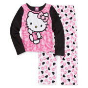 Hello Kitty® Fleece Pajama Set - Girls 4-10