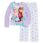 Disney Frozen Fleece Pajama Set - Girls 4-10