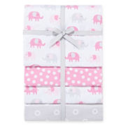 Carter's® 4-pk. Elephant Receiving Blankets - One Size