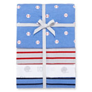 Carter's® 4-pk. Baseball Receiving Blankets - One Size