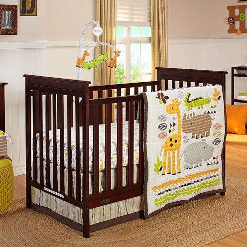 NoJo® Zoobilee 4-pc. Crib Bedding Set