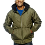 Mountain Club Hooded Nordic-Fleece Jacket