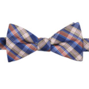Stafford® Haskell Plaid Pre-Tied Bow Tie